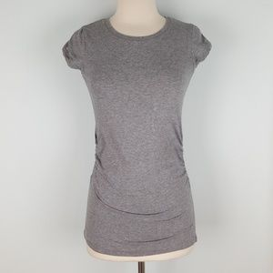 Poof! Ruched tee